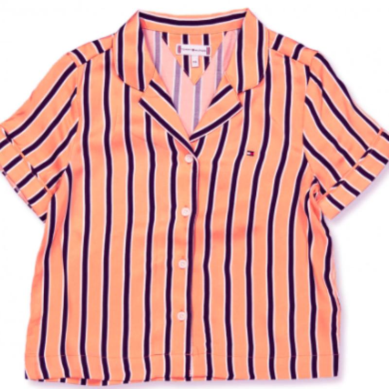 Tommy Hilfiger Stribet Skjorte