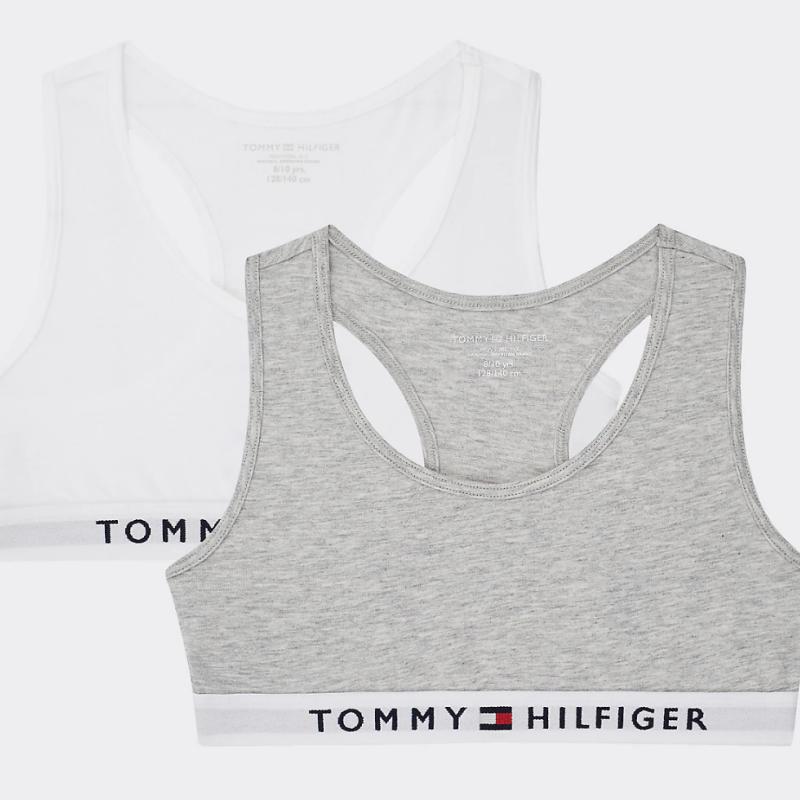 Tommy Hilfiger 2 Pack Girls Bralettes