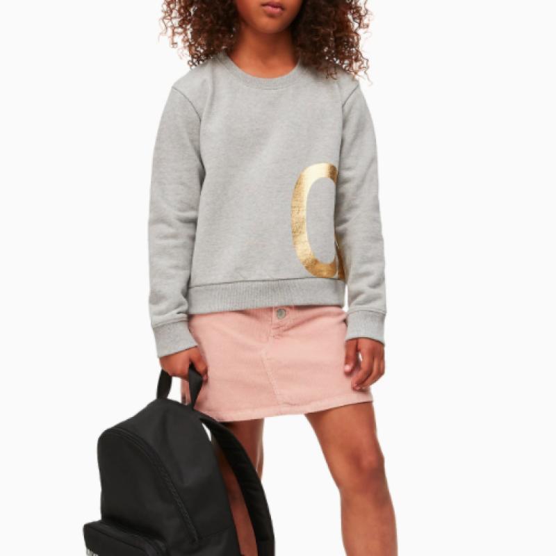 Calvin Klein Foil logo sweatshirt