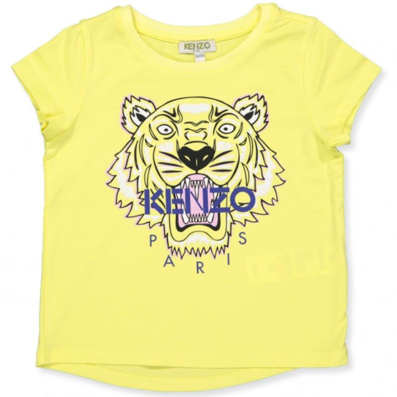 Kenzo gul tiger t-shirt