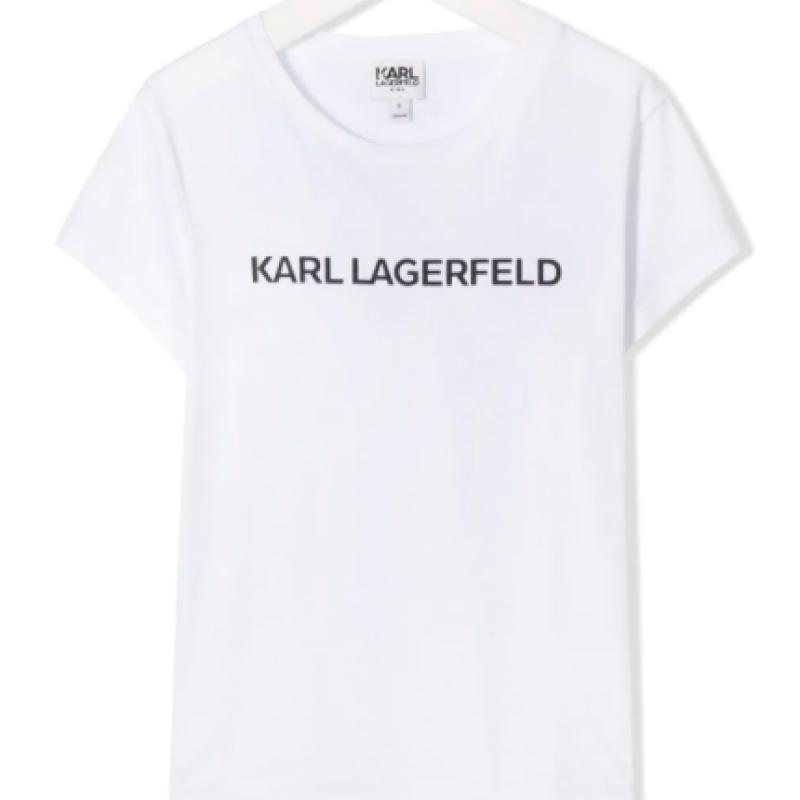 KARL LAGERFELD printed logo T-shirt
