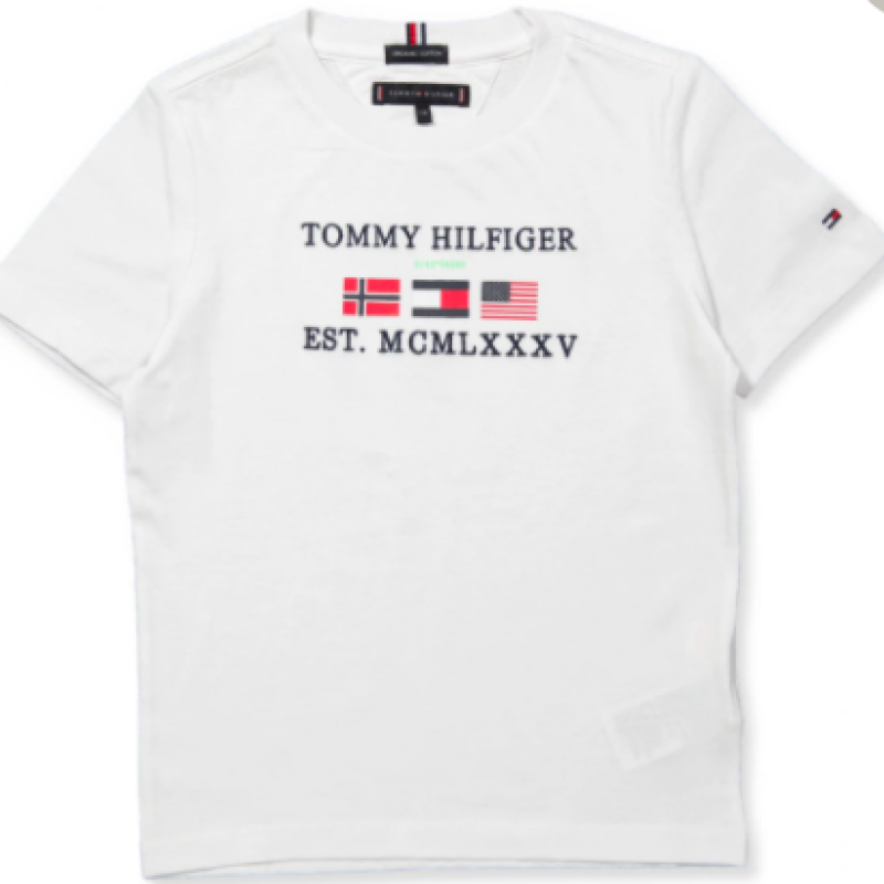 Tommy Hilfiger Organic hvid T-Shirts