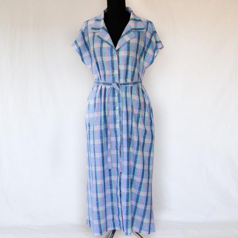Skogsviol klänning. Storlek