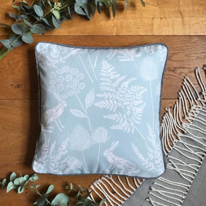 Blue Meadow Cushion