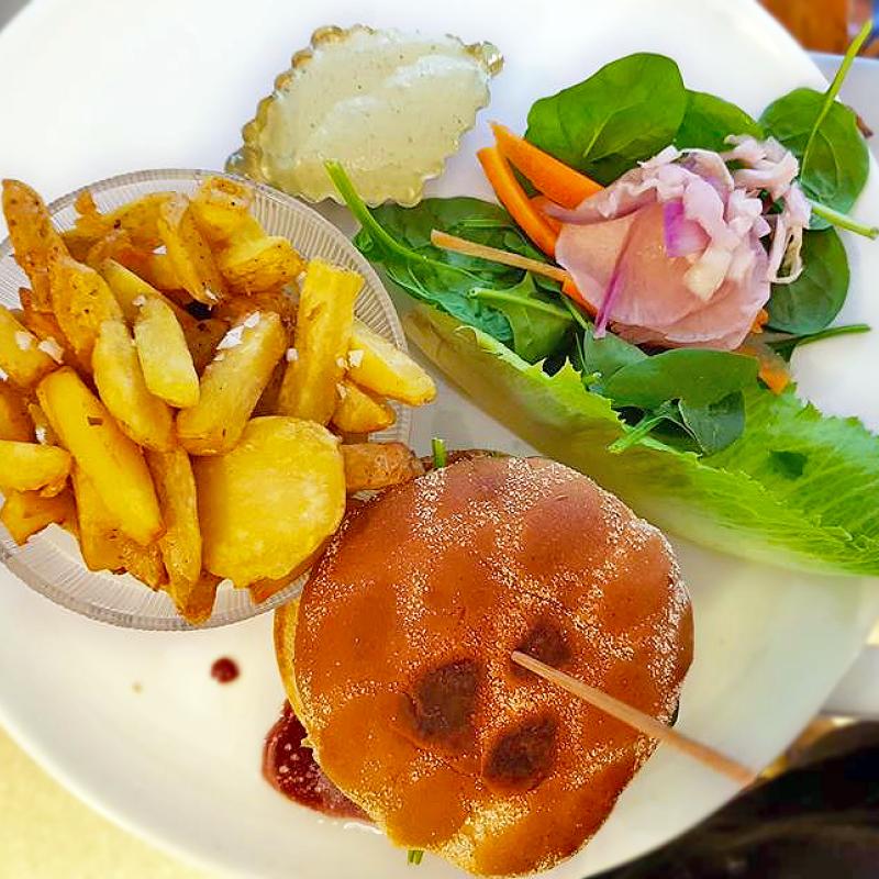 Matlagningskurs - hamburgare