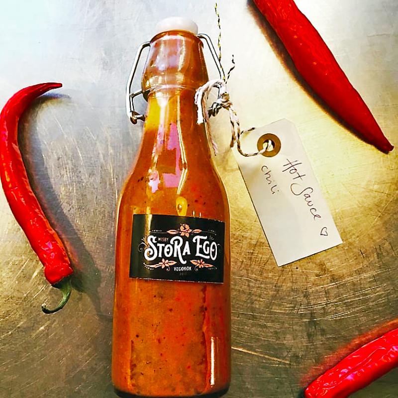 Hot sauce chili