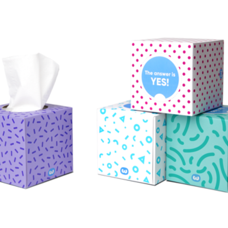 Tissue Box - Who Gives A Crap