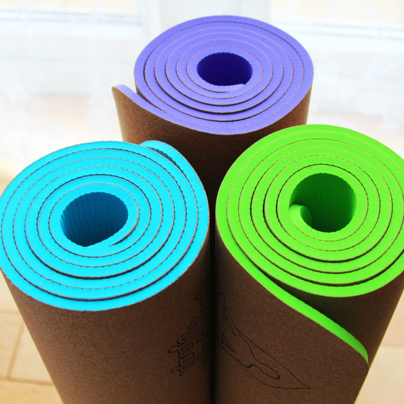Yoga Mat Cork | Evergreen Yogi