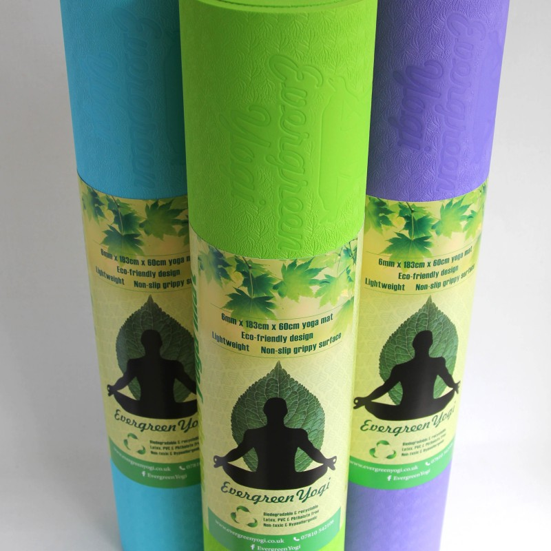 Yoga Mat TPE | Evergreen Yogi