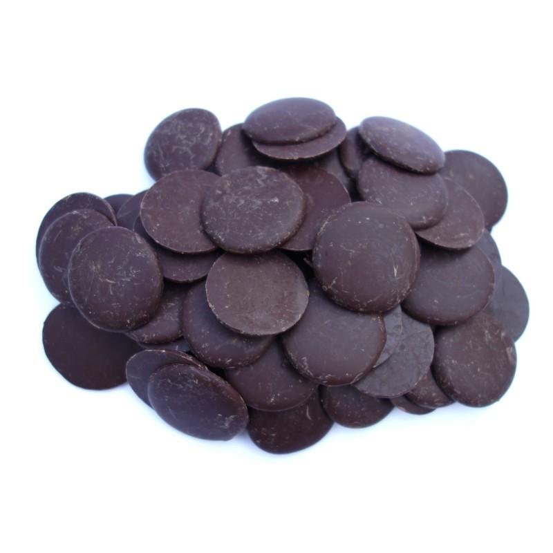 Mint 72% Dark Chocolate Buttons | Raw Chocolate Company