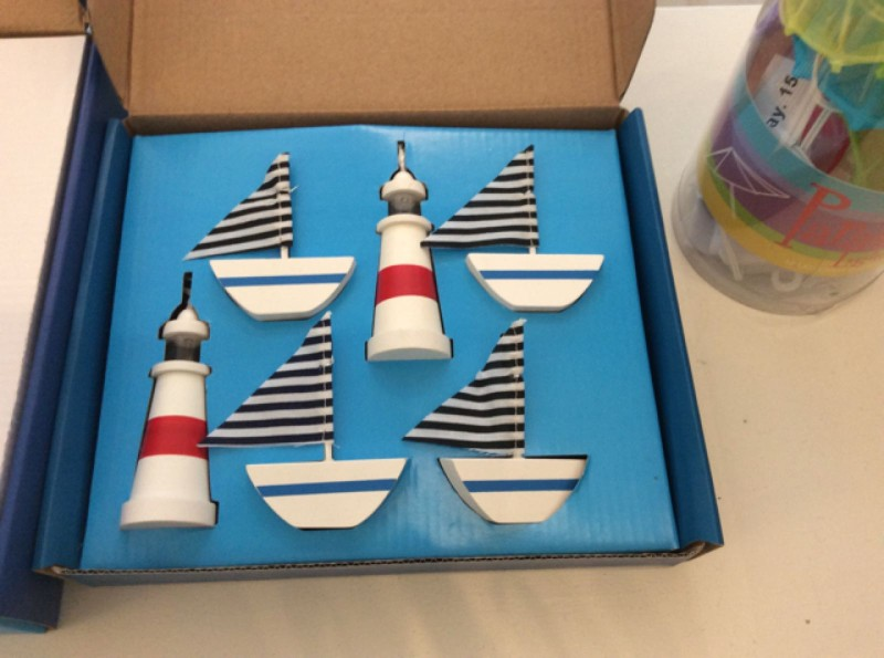 Boats and lighthouses