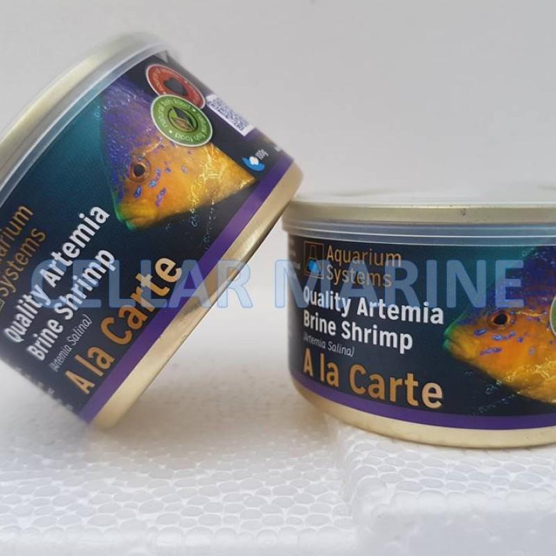 A La Carte Brine Shrimp Tinned Food - Aquarium Systems