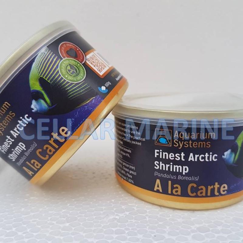 A La Carte Arctic Shrimp Tinned Food - Aquarium Systems