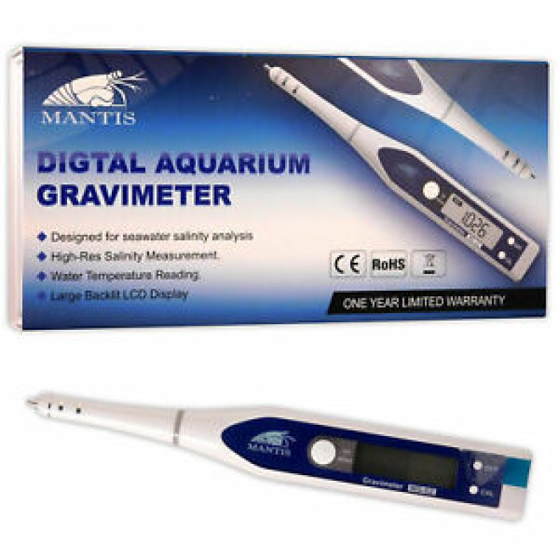 Mantis Digital Gravimeter Salinity Test Pen