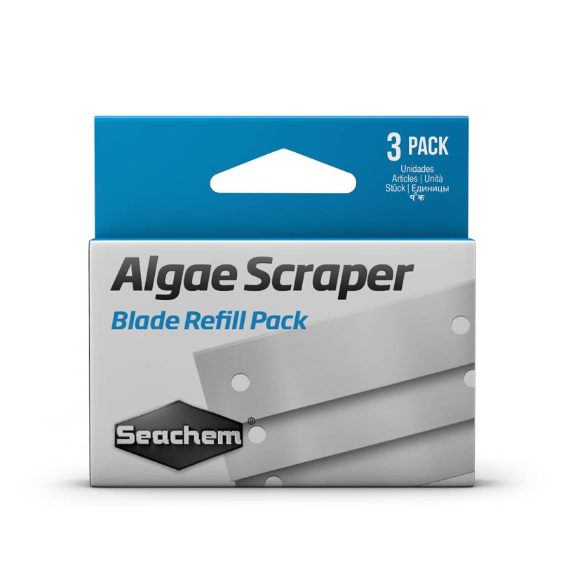 Seachem Algae Scraper Spare Blades 3PK