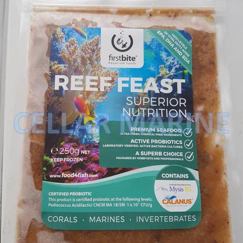 Frozen Reef Feast Slab 250g