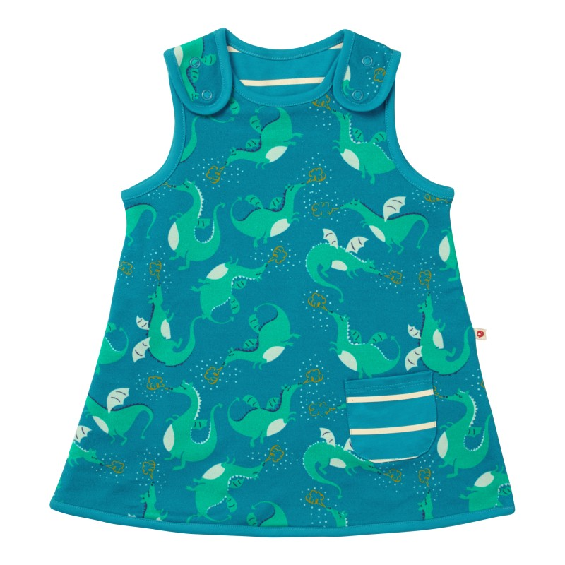 Piccalilly dragon reversible dress
