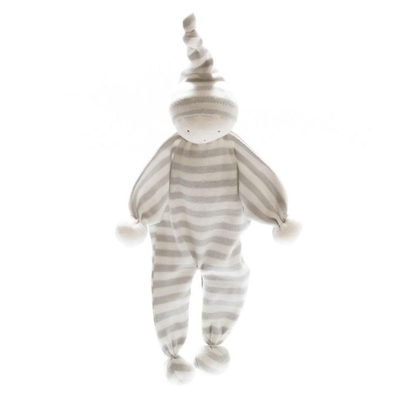 Under the Nile -Organic Baby Buddy - Grey stripe