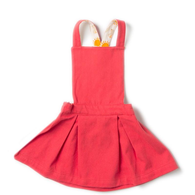 LGR- Red pinafore dress