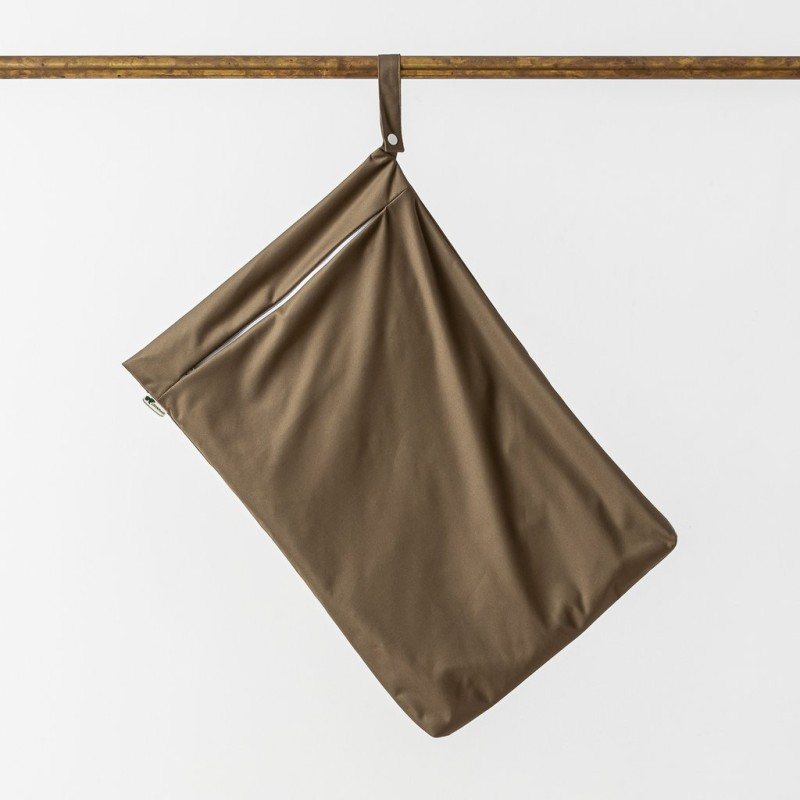 Little Lamb - Hanging Nappy Pail - Khaki
