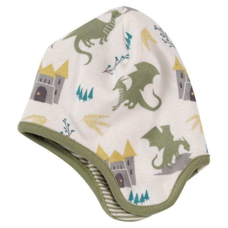 Pigeon- dragon bonnet- sage green