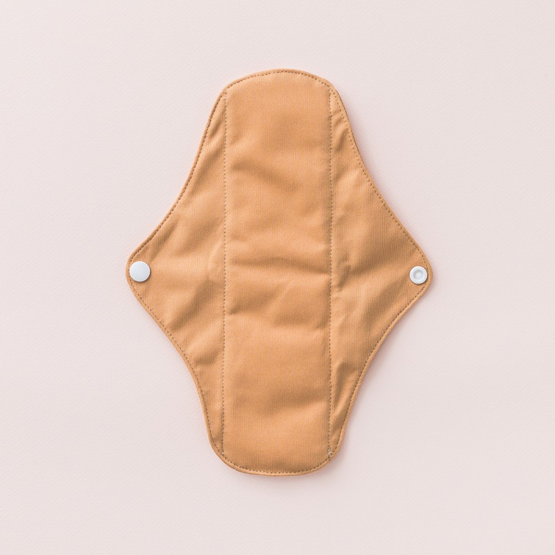 Little Lamb - Cloth Sanitary Day Pad- Tan