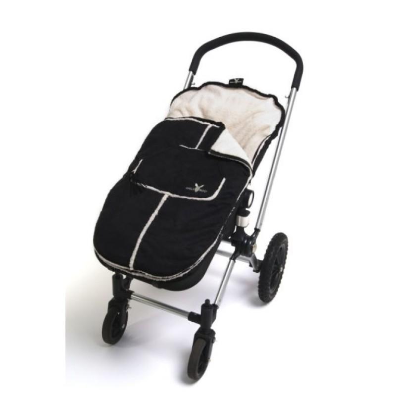 Wallaboo toddler footmuff - black