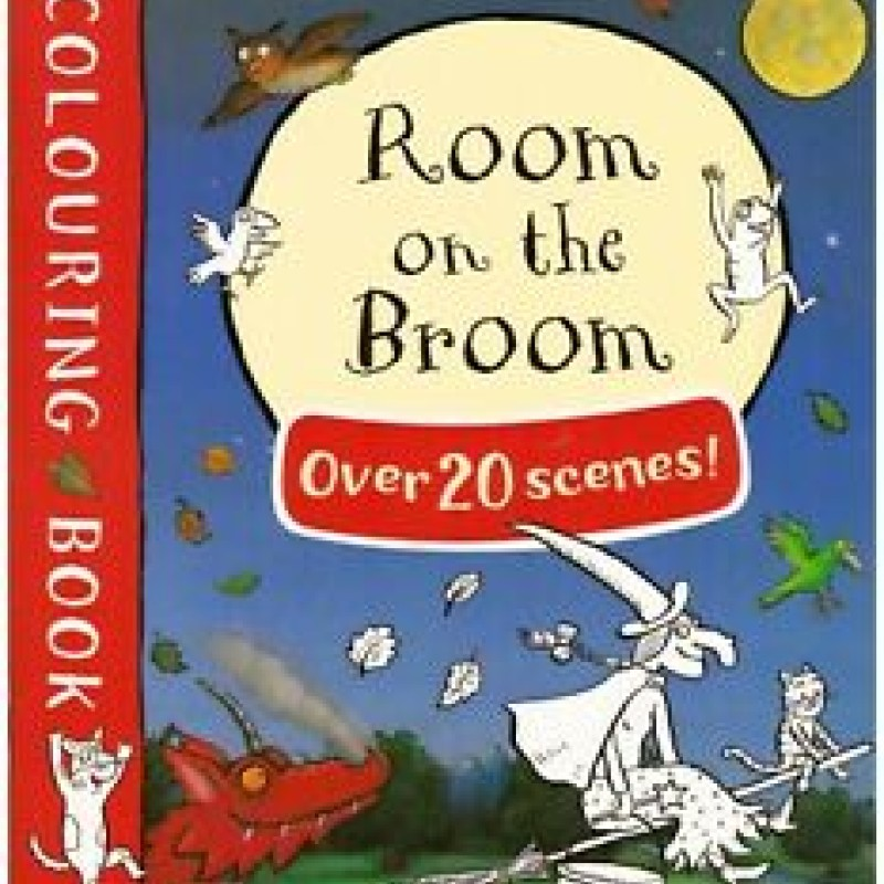 Room on the broom - Colouring Book