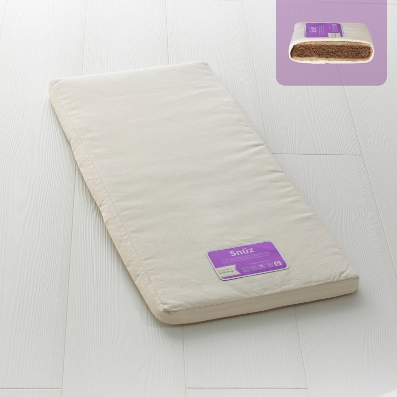 The Little Green Sheep Natural SnuzPod³ Crib Mattress (44x80cm)