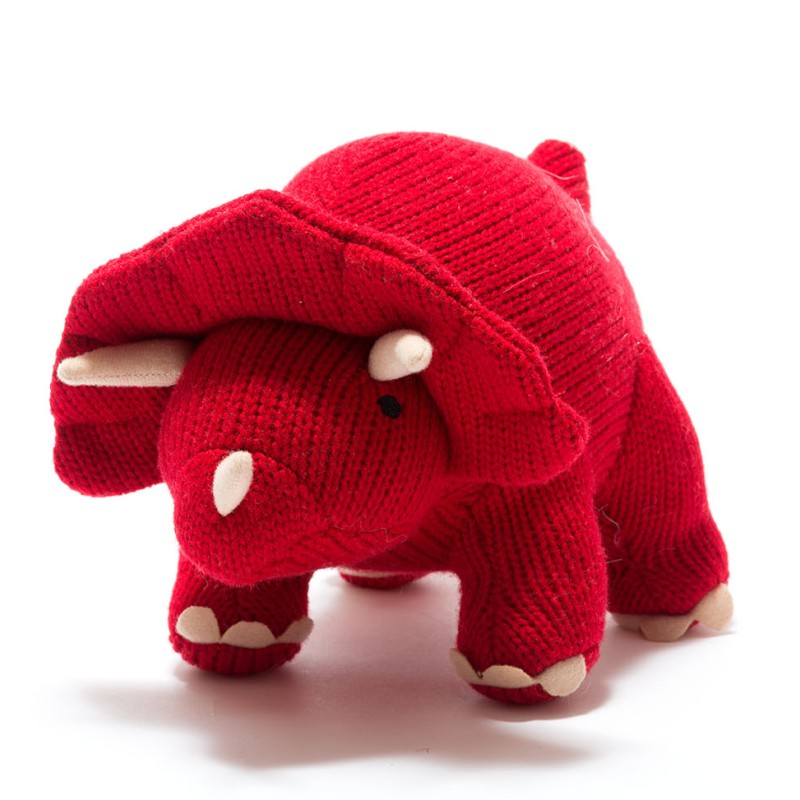 Best Years- Knitted Triceratops