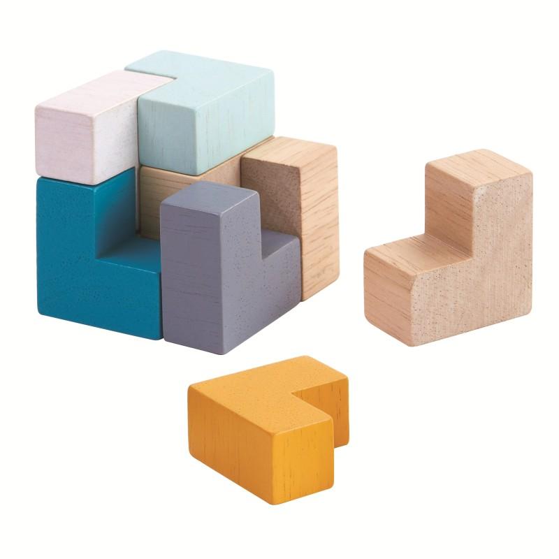 Plan Toys - 3D Puzzle Cube