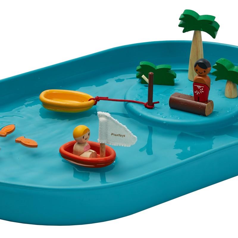 Plan Toys - Water Way play set
