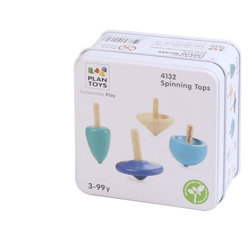 plan Toys - Spinning Tops