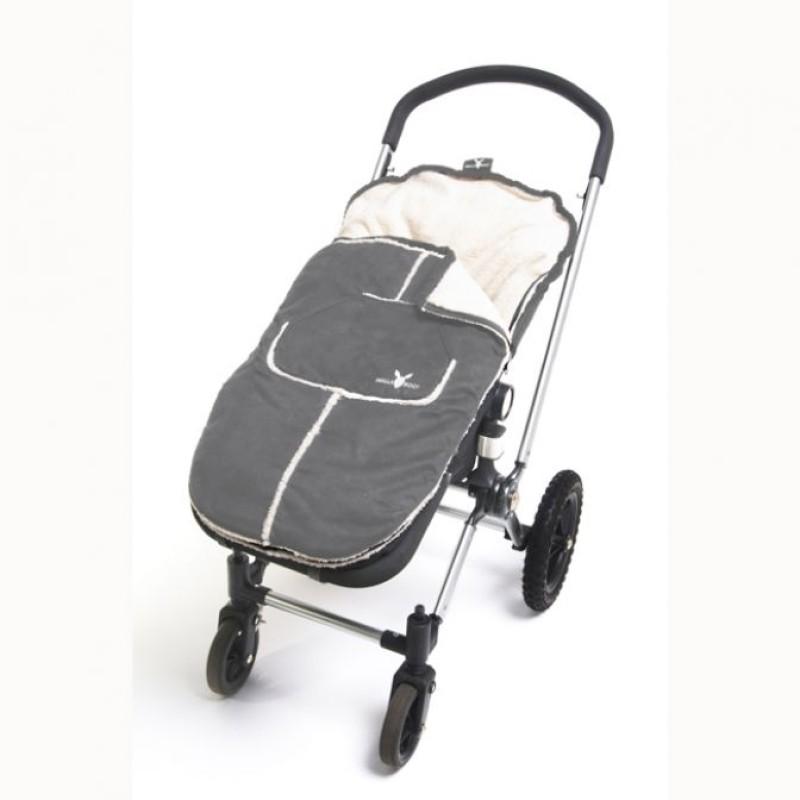 Wallaboo toddler footmuff - Grey