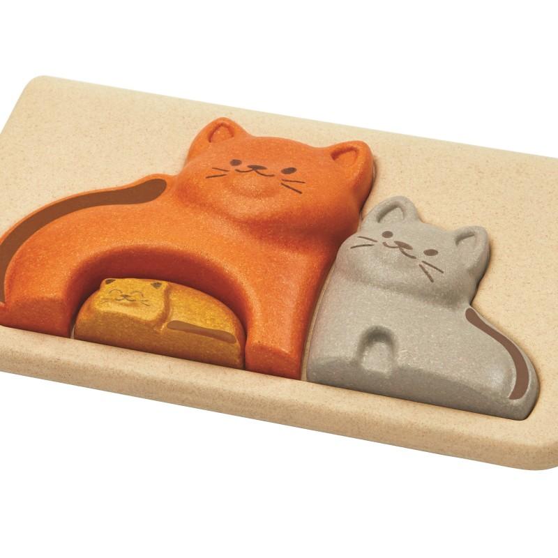 Plan Toys - Cat puzzle