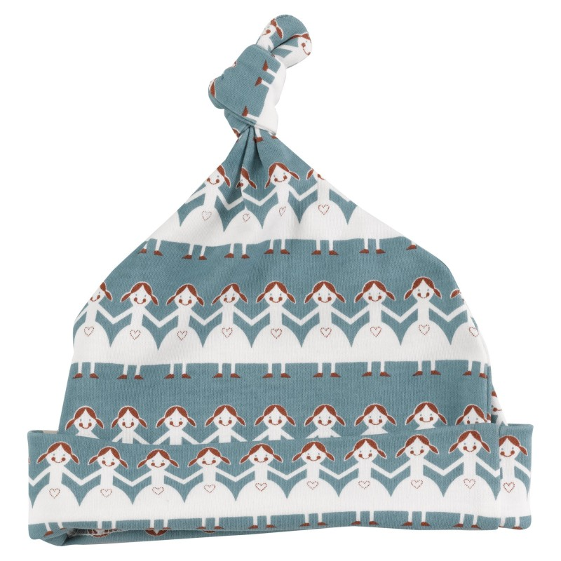 Pigeon- Knotted hat (print), paper dolls