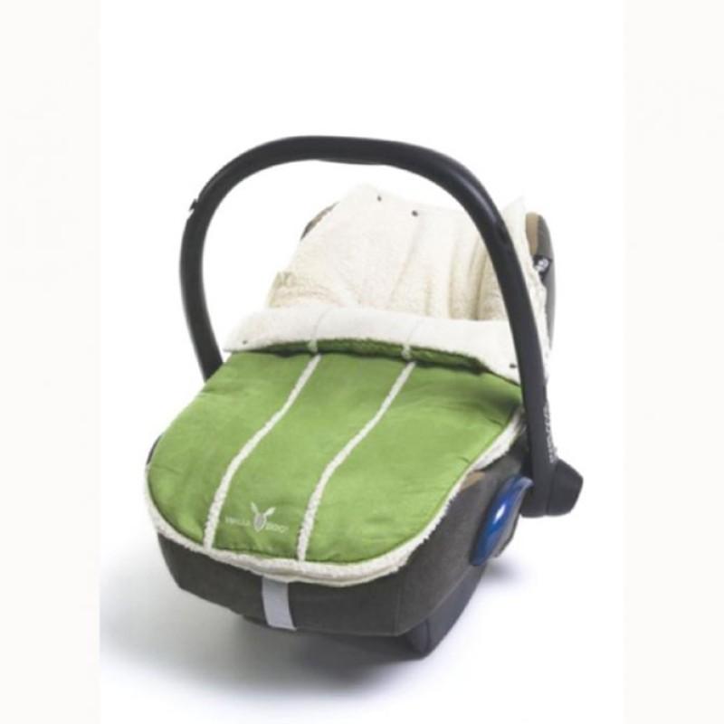 wallaboo footmuff newborn Lime