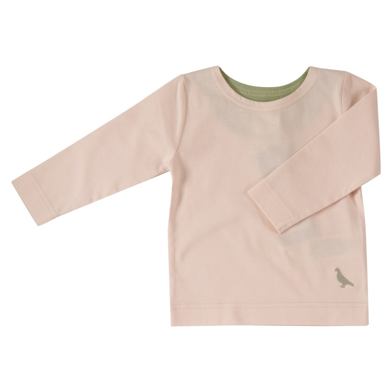 pigeon - long sleeve t-shirt - pink