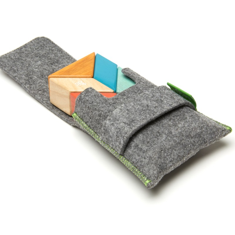 Tegu - 6-Piece Pocket Pouch Prism - Tints