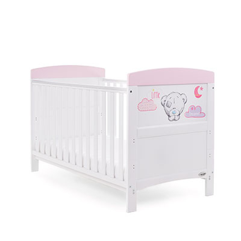 Tiny Tatty Teddy cot bed - pink