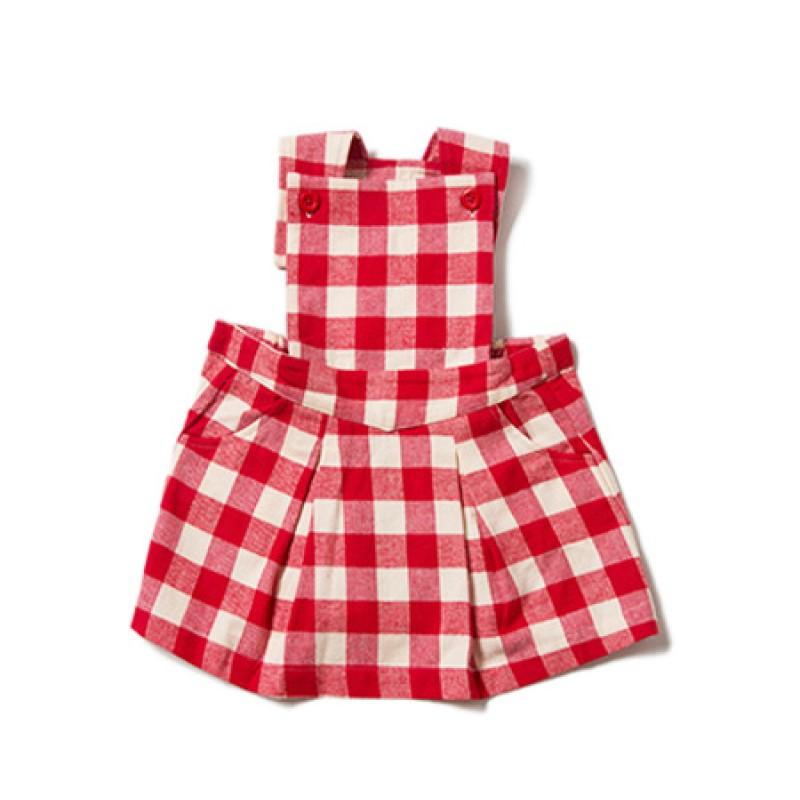 LGR - Fireside Pinafore Dress