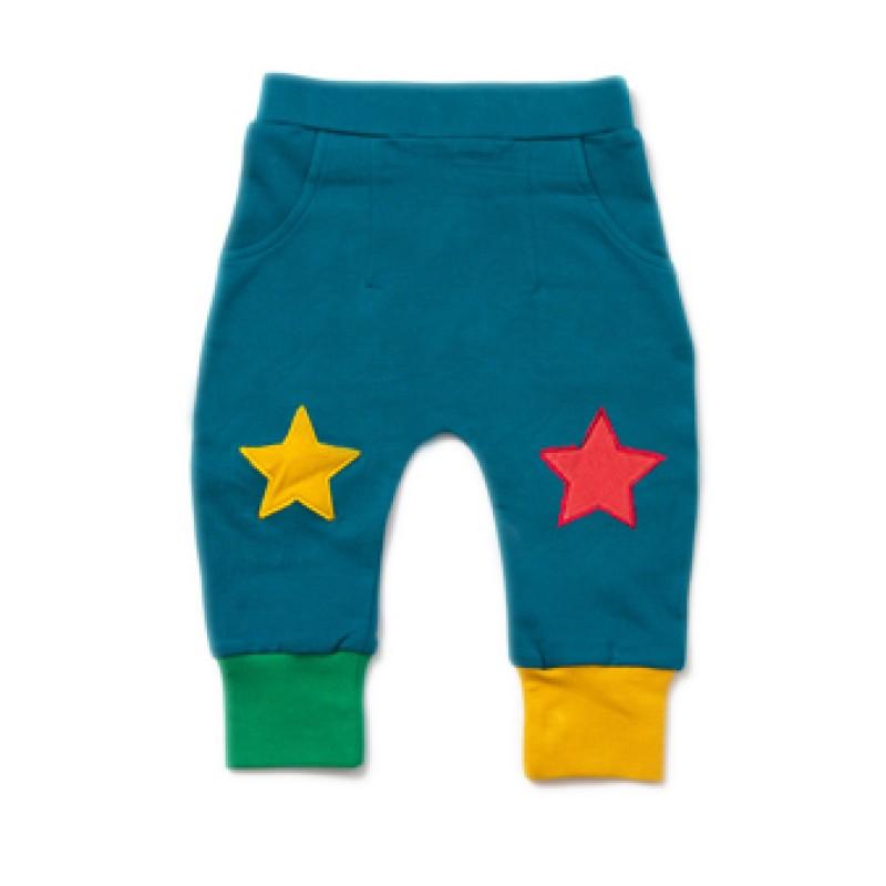 LGR - Beach ball blue star joggers 1-2 years