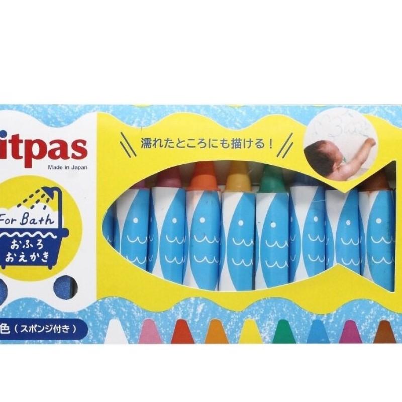 Kitpas - bath crayons 10 pack