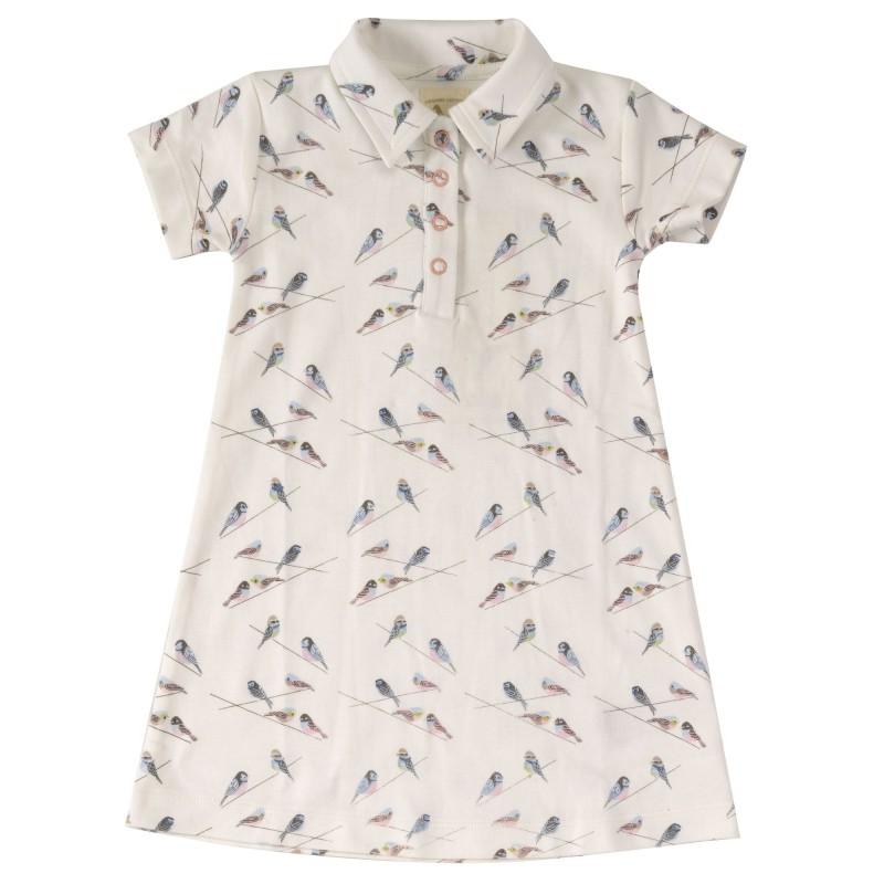 Pigeon- Casual jersey dress, birds