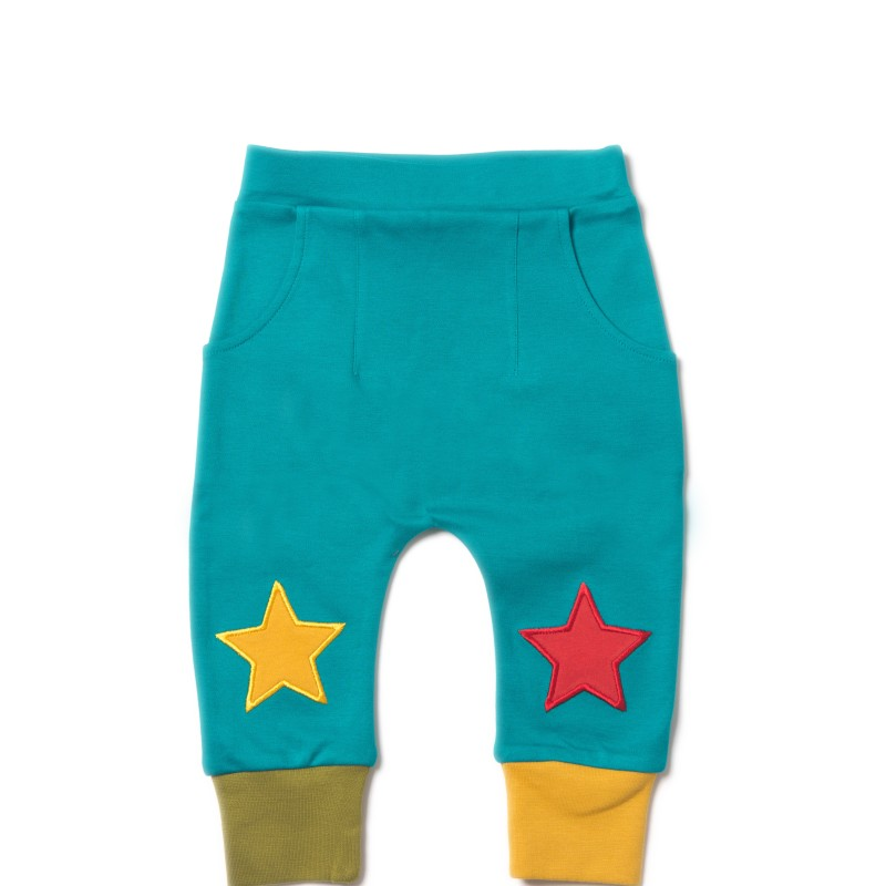 LGR - Peacockblue star jogger