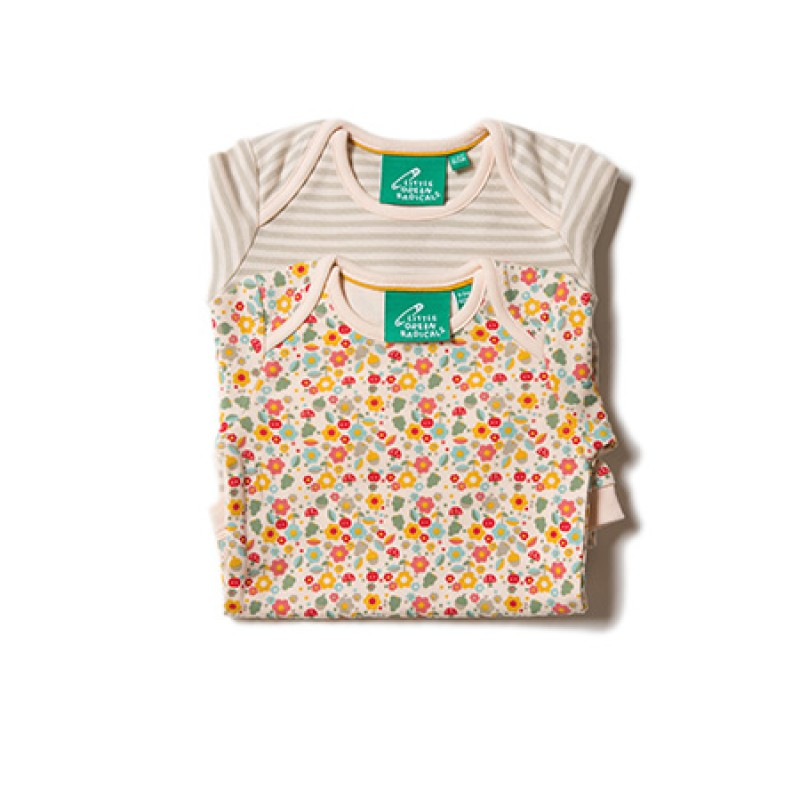 LGR- Autumn Blossom Two Pack Baby Body Set