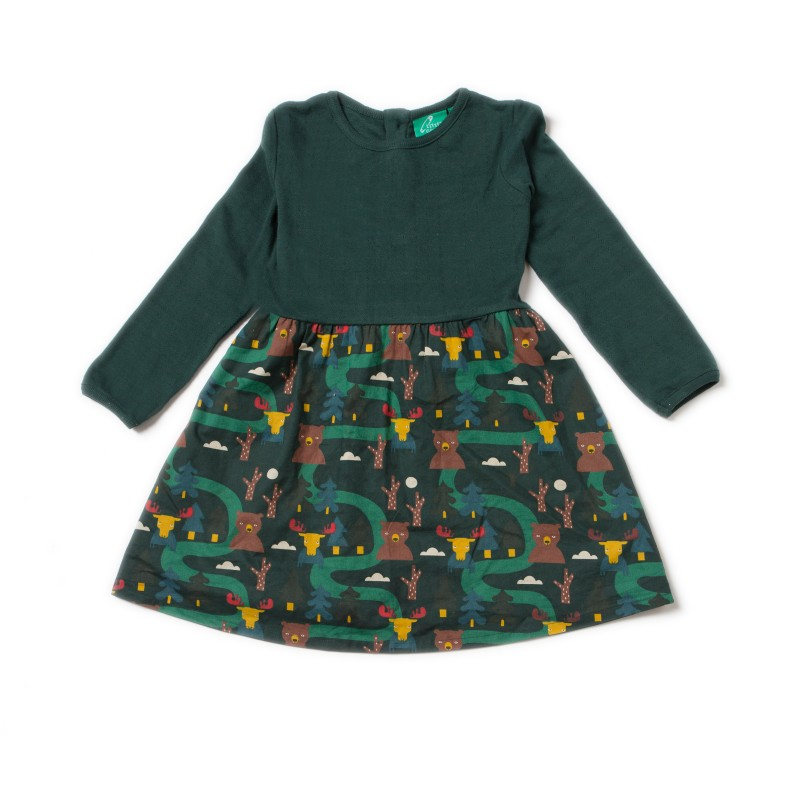 LGR- Nordic forest little twirler dress