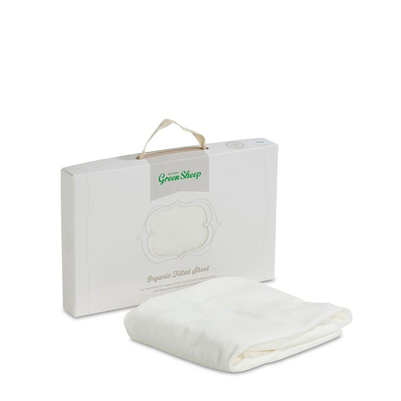 The Little Green Sheep Organic Cotton Stokke Mini Crib Fitted Sheet