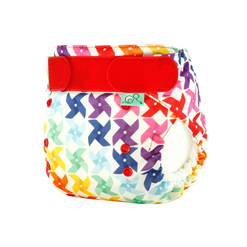 Tot Bots-NAPPY EASYFIT STAR PRINT- WHIRL-one size