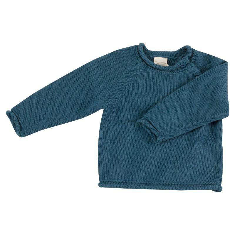 Pigeon - Raglan jumper - Smoke blue